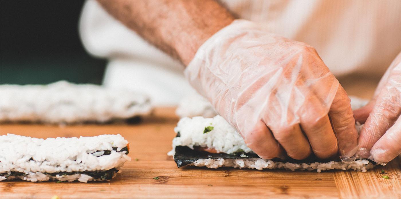 insumos para sushi